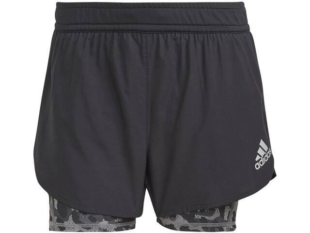 adidas Primeblue 2in1 Shorts Women black/grey four